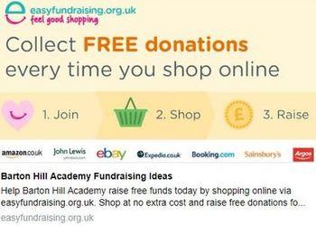 Easy Fundraising - receive a £5 bonus donation for Barton Hill Academy