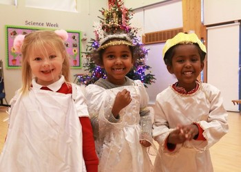 Nursery and Reception winter performance 2018