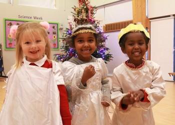 Nursery and Reception winter performance 2018