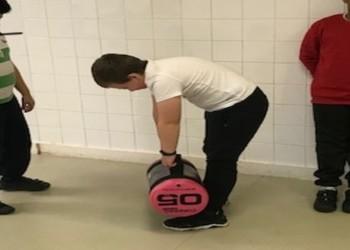 Donation of gym equipment