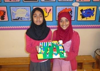 Nurture Room students - lego project
