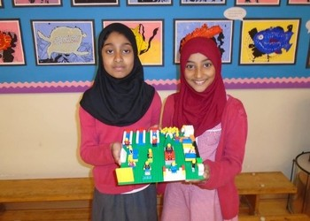 Nurture Room students - lego project