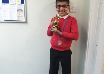 Football medal and trophy winner!