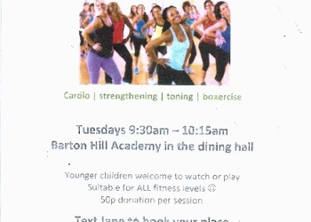 Mums' Fitness Class coming to BHA in January!
