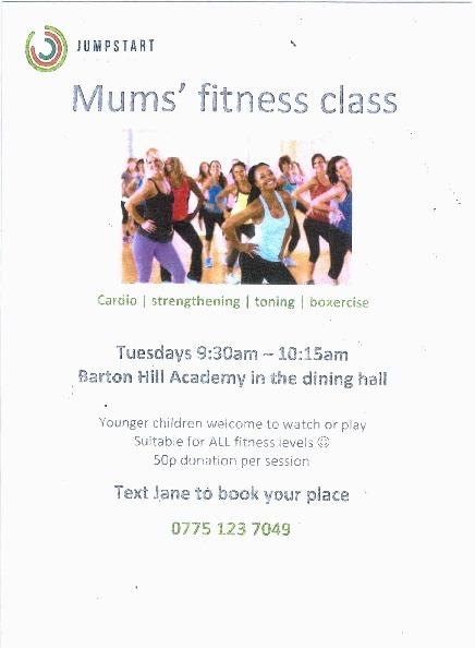 Mums' Fitness Class