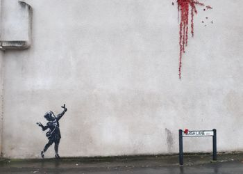 Banksy comes to Barton Hill