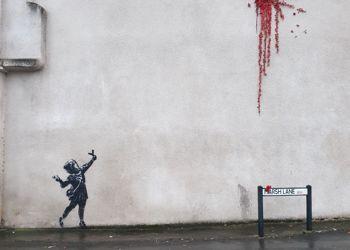 Banksy comes to Barton Hill