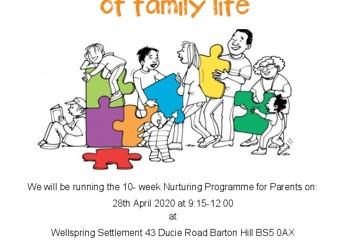 Nurturing Programme for Parents at Wellspring Settlement