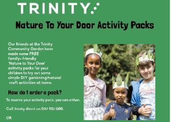 Trinity FREE Nature to Your Door Activity Packs