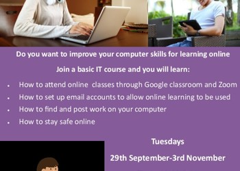 Community Learning West - courses for Employment, Skills and Learning *starting soon*