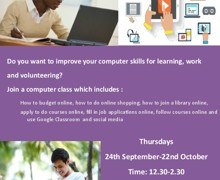 Computer skills for work or learning
