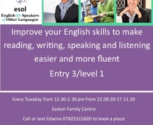 Improve English skills advanced