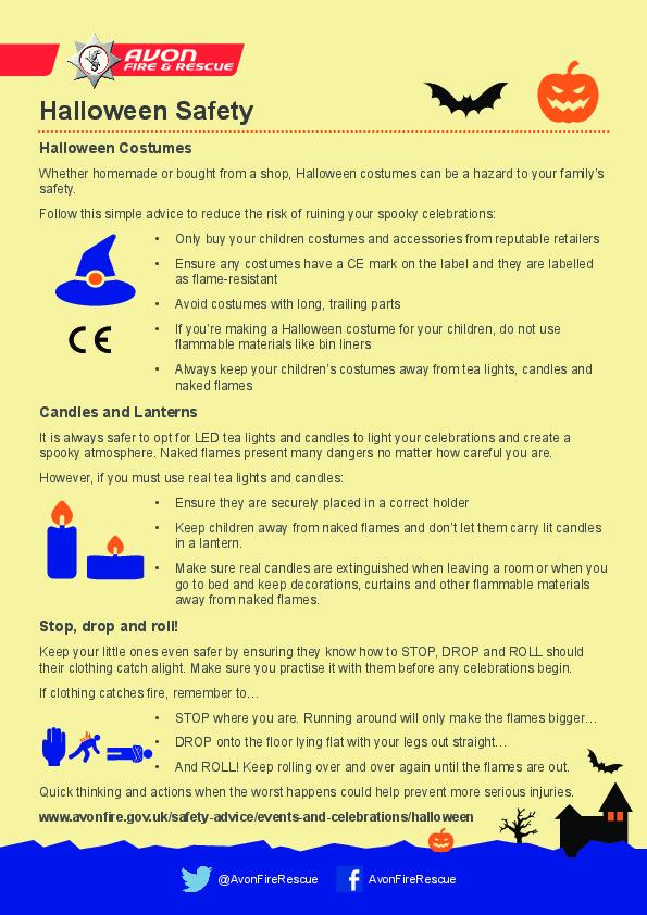 Halloween Safety pdf