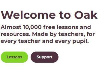 Oak National Academy - Virtual School Library