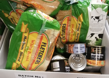Free School Meal food parcels