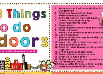 100 things to do indoors