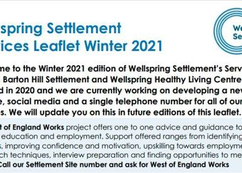 Wellsping Settlement Services Leaflet - Winter 2021