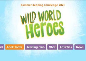 Summer Reading Challenge 2021 - Wild World Hero's